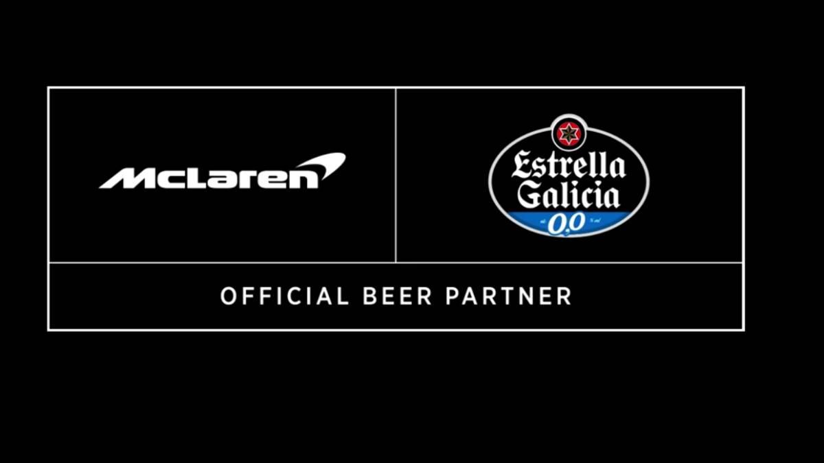 Por Carlos Sainz, Estrella Galicia deixa Renault e fecha com a McLaren