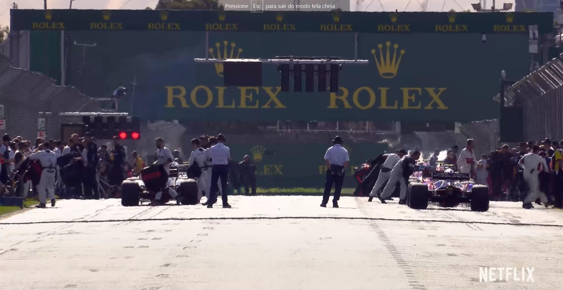Fórmula 1 e a Netflix divulgam detalhes de série sobre a categoria