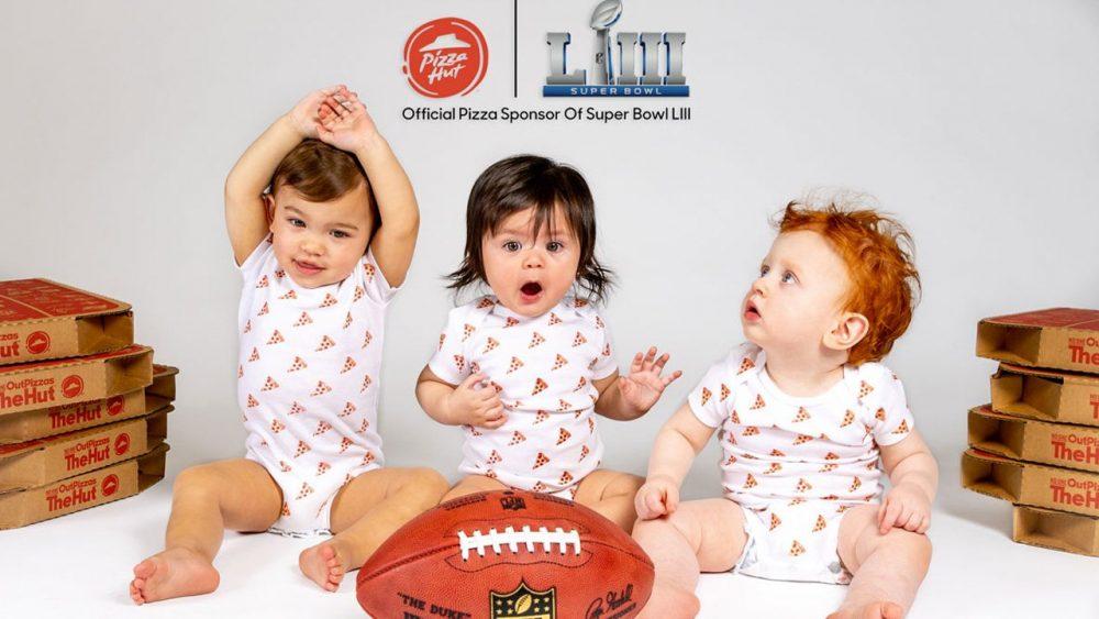 Pizza Hut dará pizza de graça para família do primeiro bebê que nascer após o início do Super Bowl