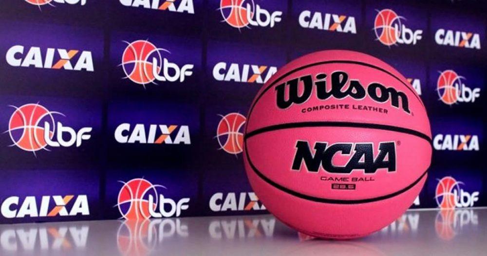 LBF e Wilson renovam parceria e 'rosinha' segue como bola oficial da LBF CAIXA