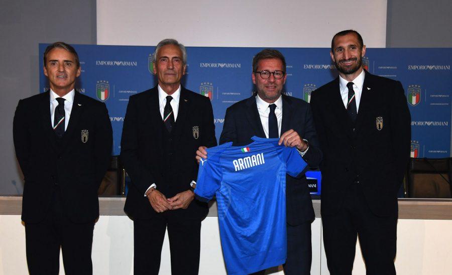 Armani retoma parceria com Federação Italiana de Futebol