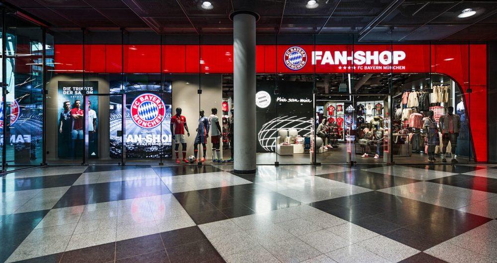Bayern de Munique irá inaugurar centro comercial em Munique