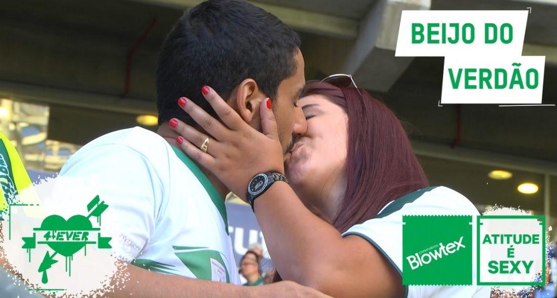 Beijo na boca no Marketing Esportivo