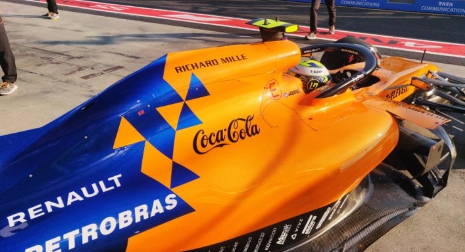Coca-Cola renova acordo com a McLaren por uma temporada