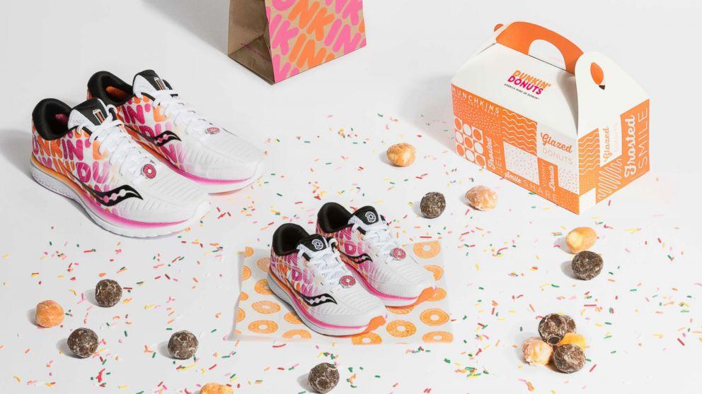 Saucony ativa Maratona de Boston em co-branding com Dunkin