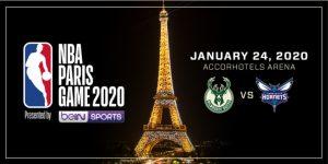 NBA deixa Londres e mandará partida da temporada regular em Paris em 2020