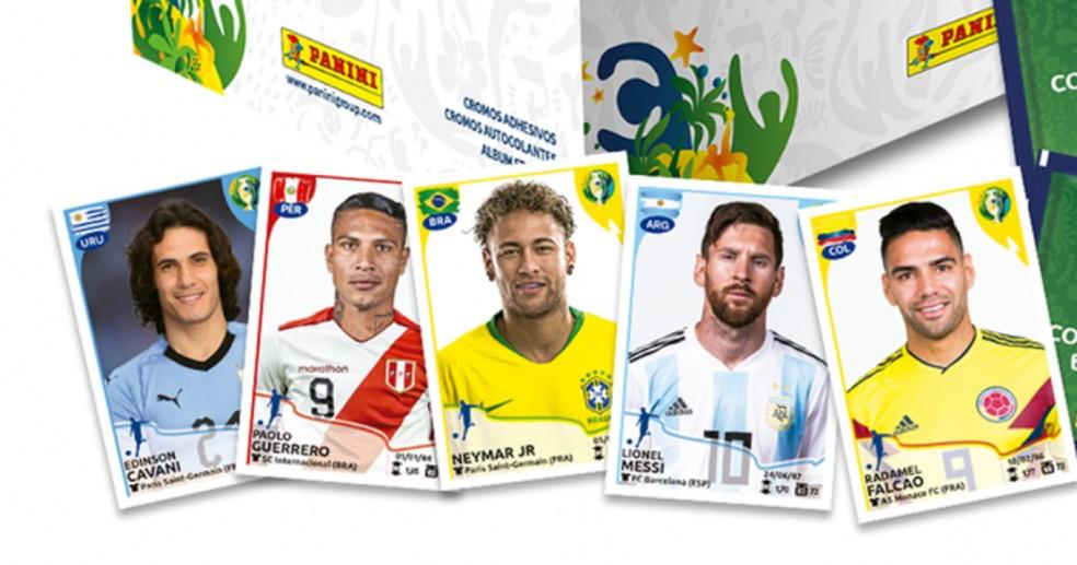 Panini lança álbum de figurinhas oficial da Copa América 2019