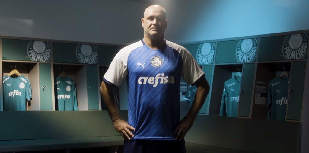 Puma fecha com Marcos e reedita camisa de 1999 para Palmeiras