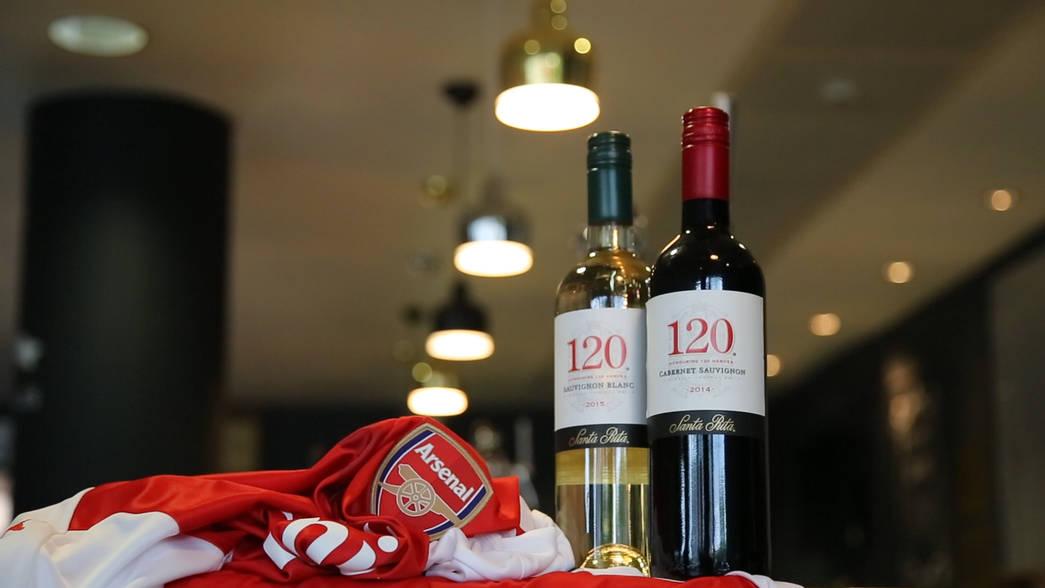 Parceira do Arsenal, vinícola chilena fará evento com Gilberto Silva