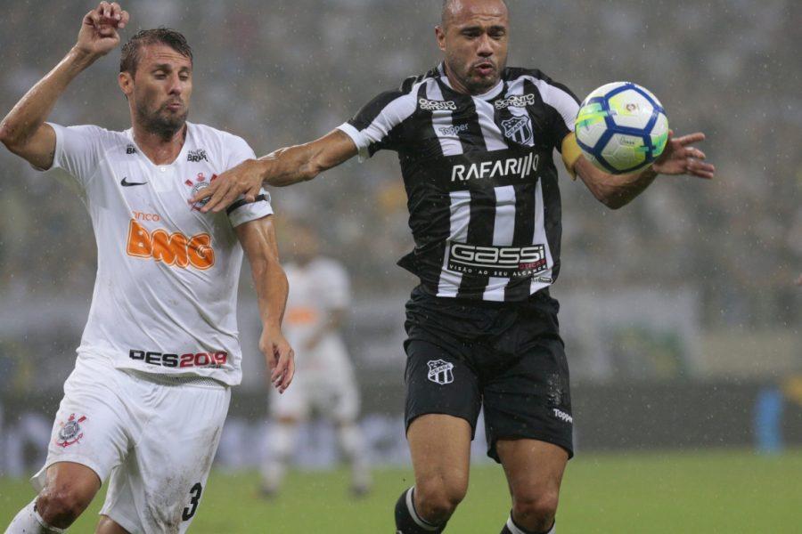 Ceará terá quatro patrocínios pontuais para duelo contra o Corinthians
