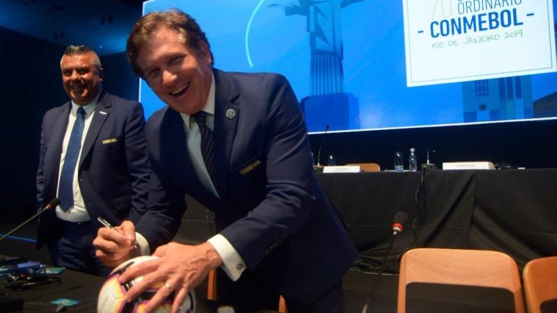Conmebol projeta faturar mais de US$ 500 milhões em 2019