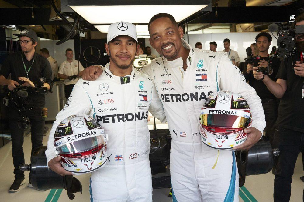 Fórmula 1 foca em entretenimento e fecha parceria com produtora de Will Smith