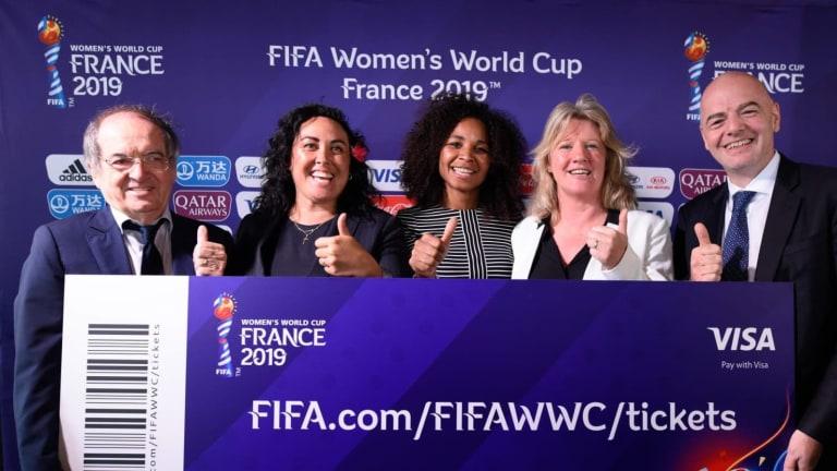 Recordista, Copa do Mundo Feminina divulga números parciais de vendas de ingressos
