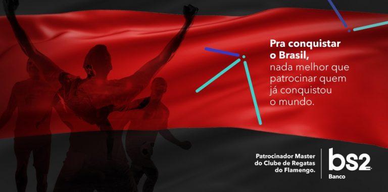 Flamengo oficializa BS2 e divulga detalhes do patrocínio