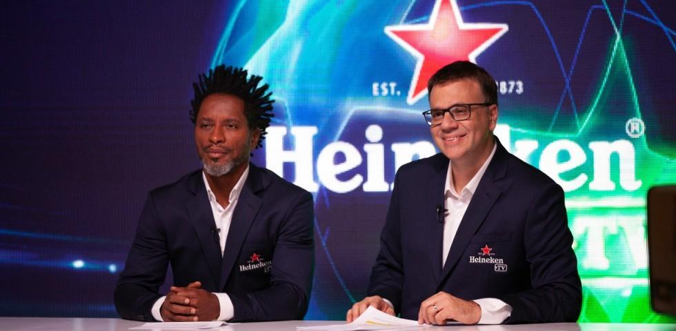 Heineken lança plataforma digital para transmitir jogos da Liga dos Campeões