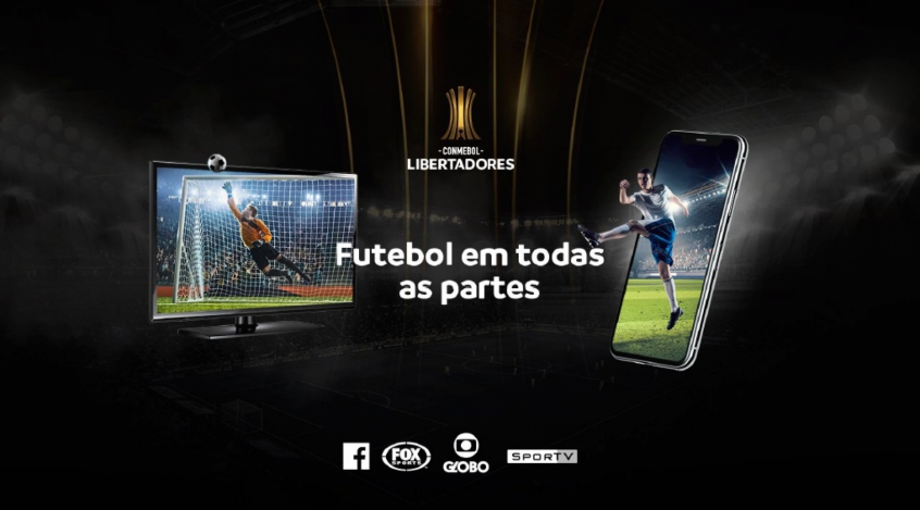 Facebook e FOX Sports compartilharão partidas da Libertadores