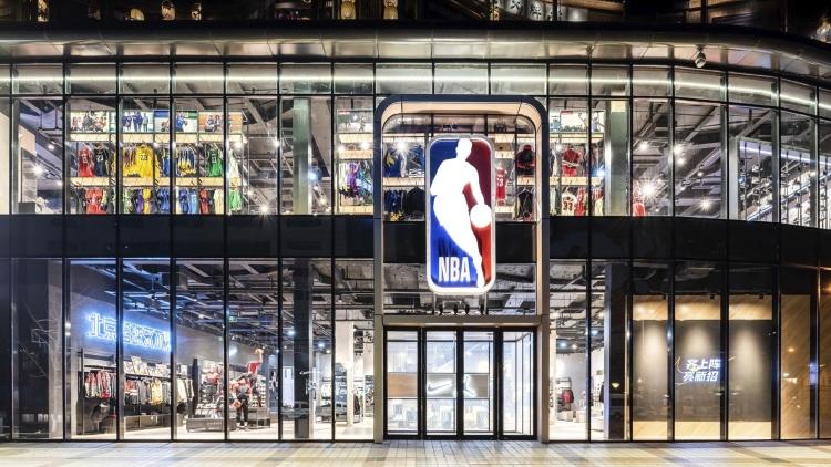 China inaugura a maior loja da NBA fora da América do Norte