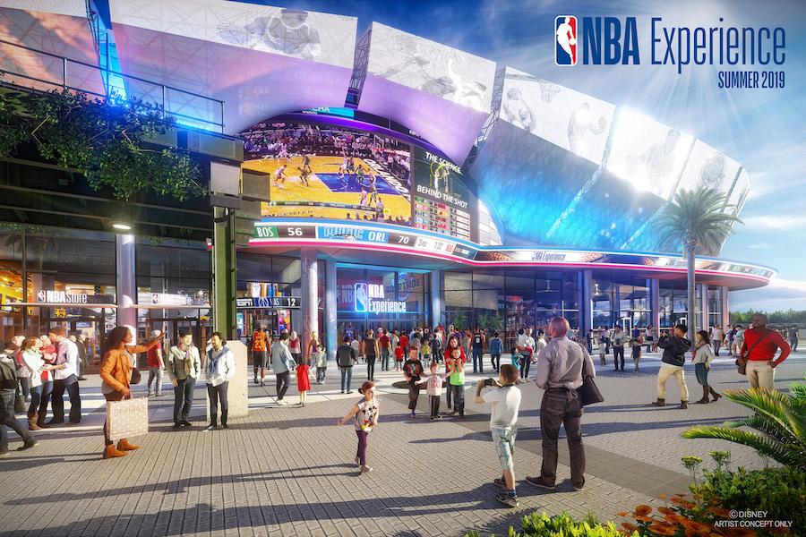 NBA terá espaço temático no Walt Disney World Resort