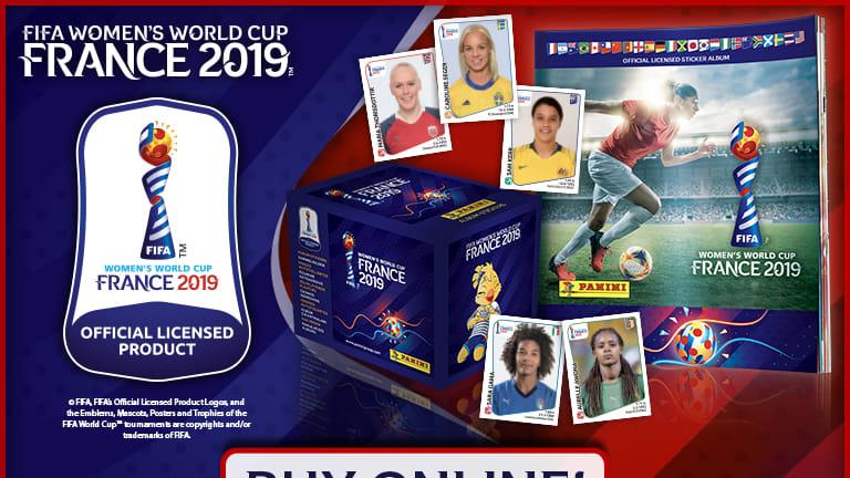Panini lança álbum oficial da Copa do Mundo Feminina