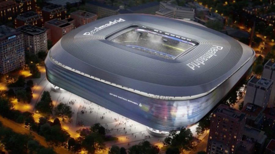 Real Madrid oficializa modernização do Santiago Bernabéu