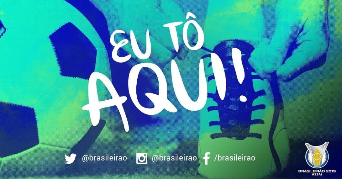 CBF lança perfis do Brasileirão no Twitter, Facebook e Instagram