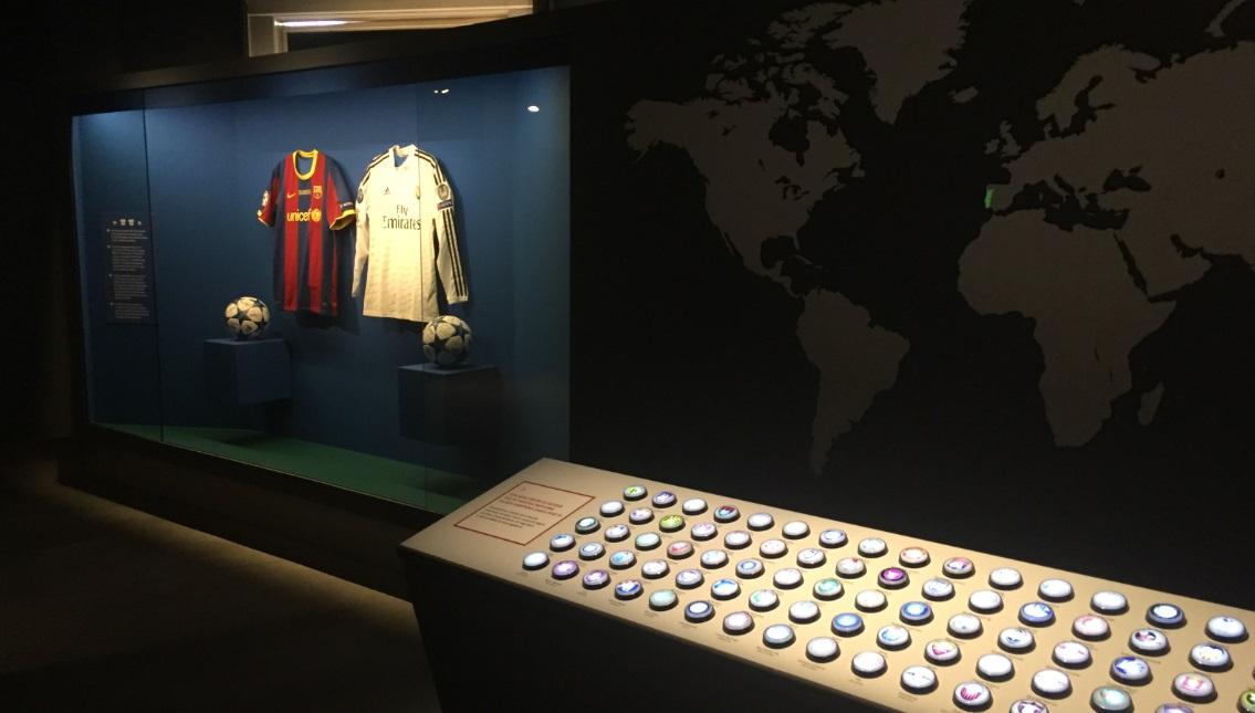 Santander inaugura exposição para promover diversidade global da Champions League