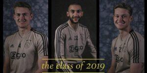 """Em vídeo emocionante, Ajax celebra feito da """"Turma de 2019"""""""