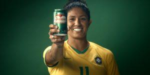 Marcas se unem ao Guaraná Antarctica em prol do futebol feminino