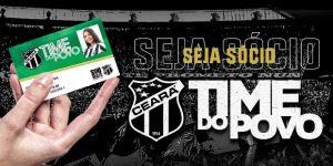 Ceará lança categoria popular de sócio e terá ingressos a R$ 10