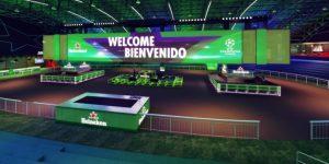 Heineken ativa decisão da Liga dos Campeões com evento e maior TV já produzida para transmissão
