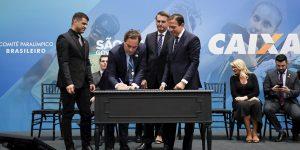 Caixa renova com Comitê Paralímpico e terá naming right do CT