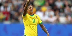 Cristiane lidera no Twitter durante estreia do Brasil na Copa do Mundo Feminina