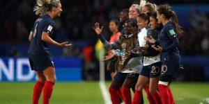 Seleção francesa bate recorde de audiência na Copa do Mundo feminina