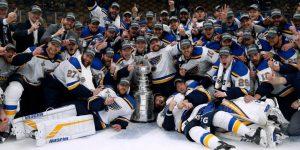 Título do St. Louis Blues impulsiona vendas e audiência