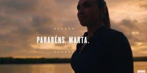 Brahma celebra recorde histórico de Marta em Copas do Mundo