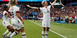 Seleção americana bate recorde histórico de vendas na Nike
