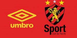 Sport oficializa acordo de patrocínio com a Umbro