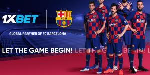 1xBet assume lugar da Betfair no FC Barcelona