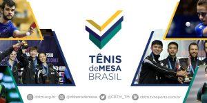 Confederação Brasileira de Tênis de Mesa apresenta nova marca