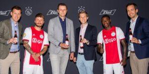 Após Premier League e La Liga, Budweiser anuncia acordo com Ajax