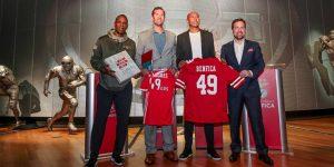 Benfica e San Francisco 49ers anunciam parceria estratégica
