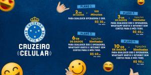 Cruzeiro lança operadora de telefonia móvel oficial