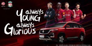 Montadora renova patrocínio e sobe de patamar no Liverpool