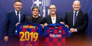 Barcelona fecha parceria com Sony Music