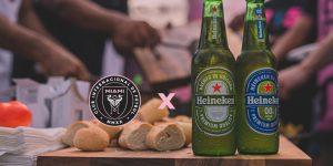 Heineken é a primeira patrocinadora da equipe de David Beckham