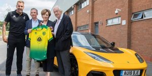 Lotus terá naming rights de CT e academia do Norwich City, da Premier League