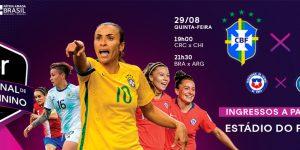 Com presença do Brasil, Uber patrocinará torneio de futebol feminino