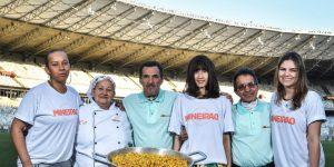 Mineirão lança a campanha em prol da luta contra o câncer