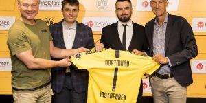 Borussia Dortmund assina com InstaForex para crescer na Ásia
