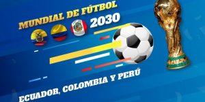Por Copa do Mundo 2030, Equador quer aliança com Peru e Colômbia